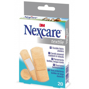 3M Nexcare Pflaster Textile Pflaster (20 Stk)