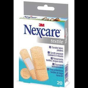3M Nexcare plasters Textile plasters (20 pcs)