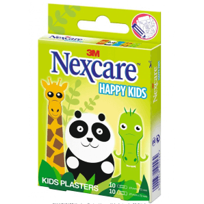 3M Nexare plasters Happy Kids Animals (20 pieces)