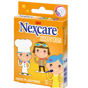 3M Nexcare children's plasters Happy Kids professions (20 pieces)