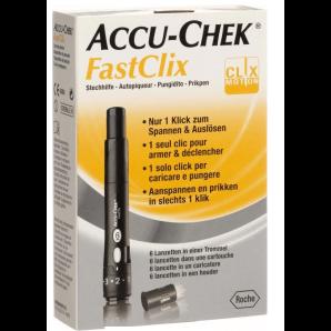 Kit Accu-Chek FastClix + 6 lancettes