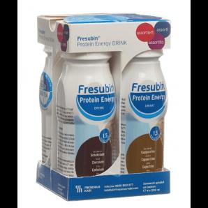 FRESUBIN Protein Energy DRINK assorted (4x200ml)