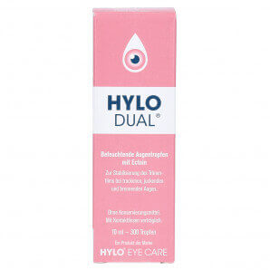 Hylo Dual eye drops (10ml)