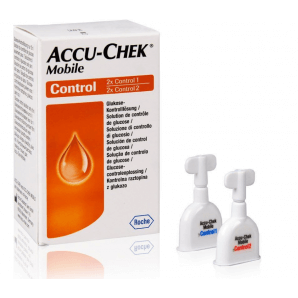 Accu Chek Mobile Kontroll-Lösung (2x2)