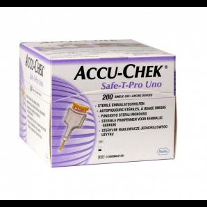 Accu-Chek Safe-T Pro Uno Autopiqueur jetable (200 pièces)