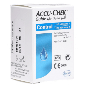 Accu Chek Guide Control (2 x 2.5ml)