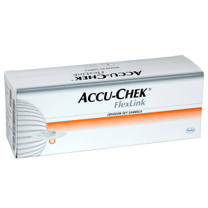 Accu-Chek FlexLink Canules - 8 mm (10 pièces)
