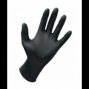 Bate nitrile gloves black size S (20 pcs.)