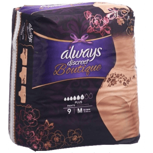Always discreet Boutique Incontinence Pants Plus M (9 pcs)