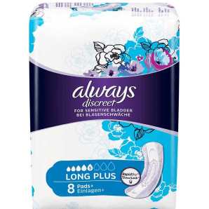 Always discreet incontinence long plus (8 pcs)