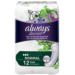 Always discreet incontinence normal (12 pcs)