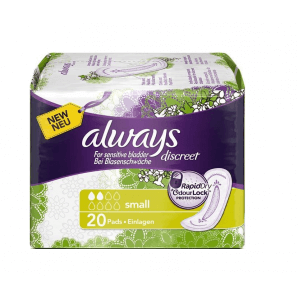 Always discreet incontinence small (20 pcs)