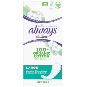 Always Slipeinlage Cotton Protection Large (32 Stk)