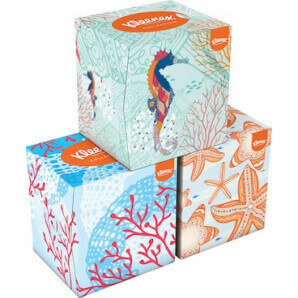 Kleenex - Kosmetiktücher (3x48Stk)