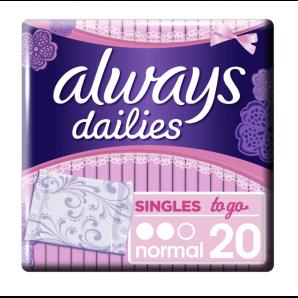 Always Singles To Go Geruchsneutralisierung (20 Stk)