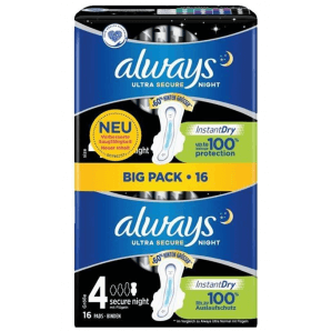 Always Ultra Secure Night (16 pcs)