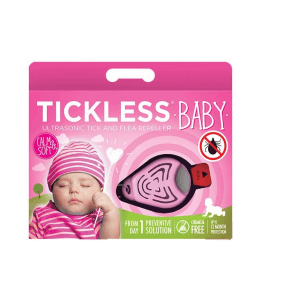 Tickless baby tick protection (pink)
