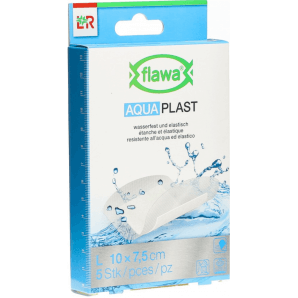 FLAWA Aqua Pansements 7,5x10 cm étanche (5 pièces)