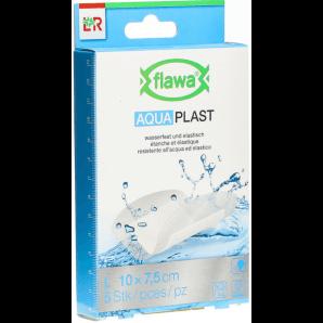 FLAWA Aqua plaster 7.5x10cm waterproof (5 pieces)
