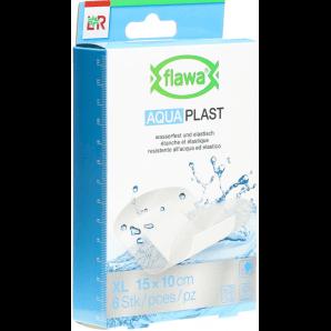 FLAWA Aqua Pflaster 10x15cm wasserfest (6 Stk)