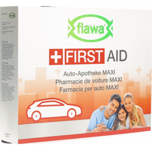 FLAWA Car First Aid Maxi Bag