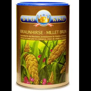 BioKing Braunhirsevollwertpulver (500g)