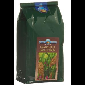 BioKing Braunhirsevollwertpulver (1000g)