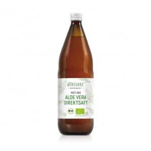 Allessenz 100% Aloe Vera Bio Direktsaft (1L)