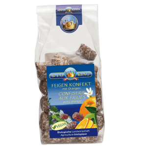BioKing Fig Confectionery with Oranges (200g)