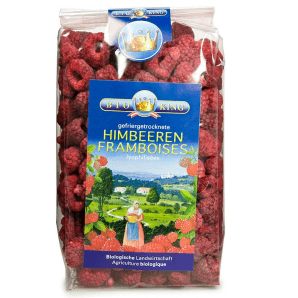 BioKing raspberries freeze-dried (100g)