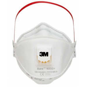3M fine dust mask FFP3 with valve (10 pcs)