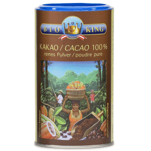 BioKing Cacao 100% poudre pure (200g)