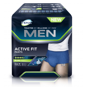 Tena Men Active Fit Pants M (12 pieces)
