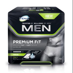 Tena Men Premium Fit Underwear Level 4 L (10 pieces)