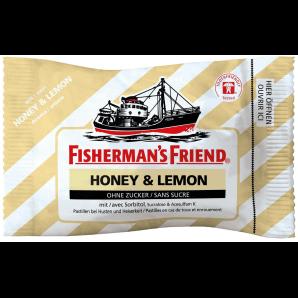 Fisherman's friend Miel et citron sans sucre (25g)