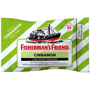 Fisherman's friend Cinnamon without sugar (25g)