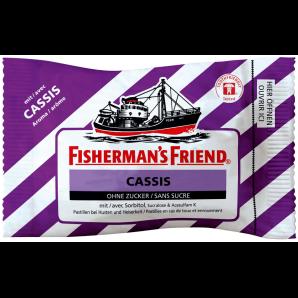 Fisherman's friend Cassis sans sucre (25g)