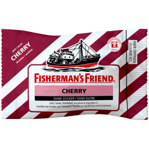 Fisherman's friend Cherry without sugar (25g)