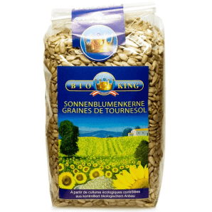 BioKing Graines de tournesol (500g)