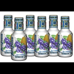 AriZona Blueberry White Tea (6 x 500ml)