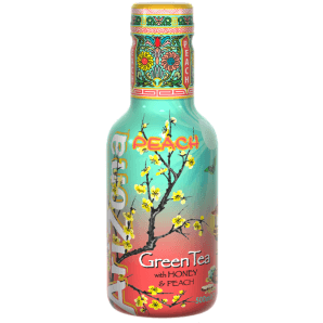 AriZona Peach Green Tea (500ml)