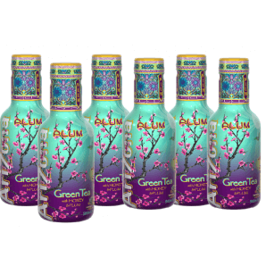 AriZona Plum Green Tea (6 x 500ml)