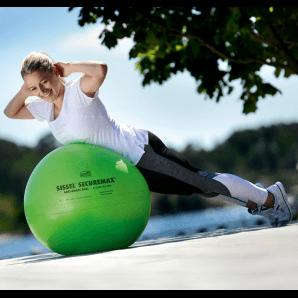 Sissel Securemax Ballon d'exercice 55cm (citron vert / vert)