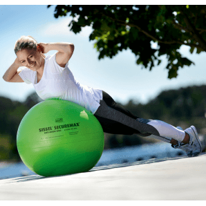 Sissel Securemax exercise ball 55cm (lime / green)