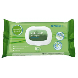 Schülke mikrozid AF wipes premium (50 pieces)