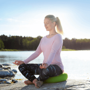Sissel Yoga Relax Cushion Sitzkissen