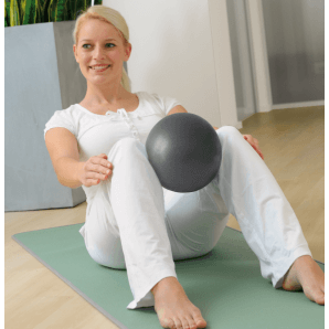 Sissel Pilates Soft Ball 26cm (grau)