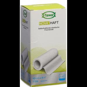 FLAWA NOVA HAFT selbsthaftende elastische Fixierbinde 10cmx4m (1 Stk)