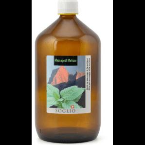 Soglio massage oil lemon balm (1080ml)