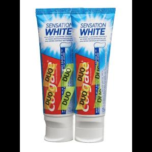 COLGATE Sensation Blanc Duo de dentifrice (2x75ml)